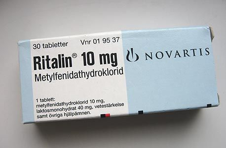 ריטלין - סם מסוכן לטיפול בהפרעות קשב וריכוז