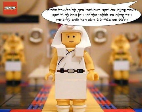 מקץ - פרעה עושה כבוד ליוסף