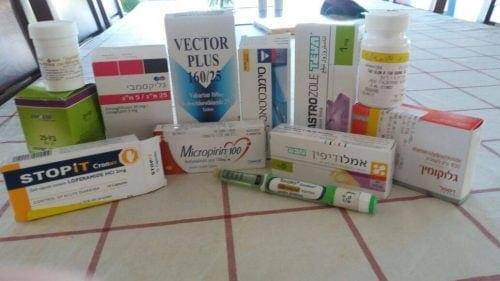 אריזות תרופות נגד סרטן