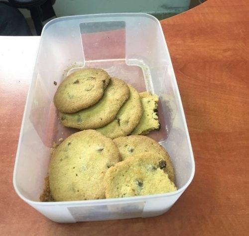 עוגיות חשיש נתפסו בנתיבות