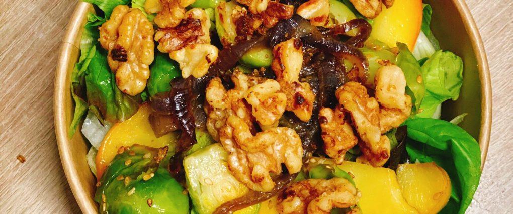Rosenkohl-Salat
