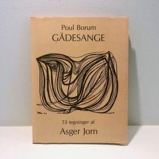 Gådesange : til tegninger af Asger Jorn af Poul Borum