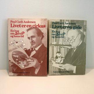En bog om Storm P og hans tid bd. 1 og 2 af Poul Carit Andersen