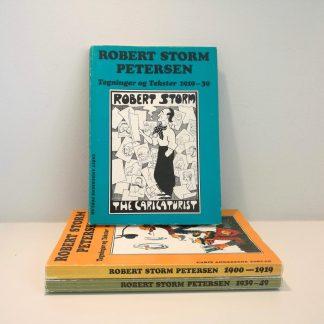 Tegninger og tekster af Robert Storm Petersen