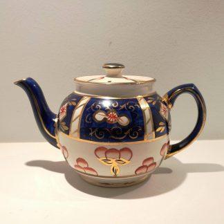Vintage engelsk tekande dekoreret i Imari style