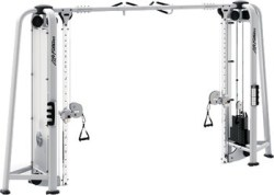 Kabelzug , Seilzug, Maschine, Brustübungen am Seilzug
