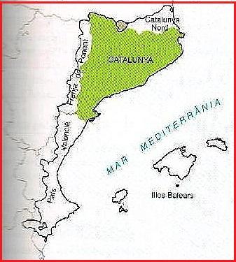 paisos catalans con ñ de españa