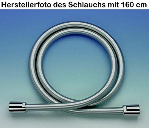 Deluxe Brauseschlauch Classic Chromline Lnge 80 cm  08 m  Duschkpfe
