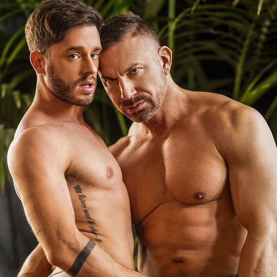 ゲイ動画親父のデカマラ  スペインのバリウケManuel Reyes がTomas Brandのデカマラに掘られて鳴きまくる