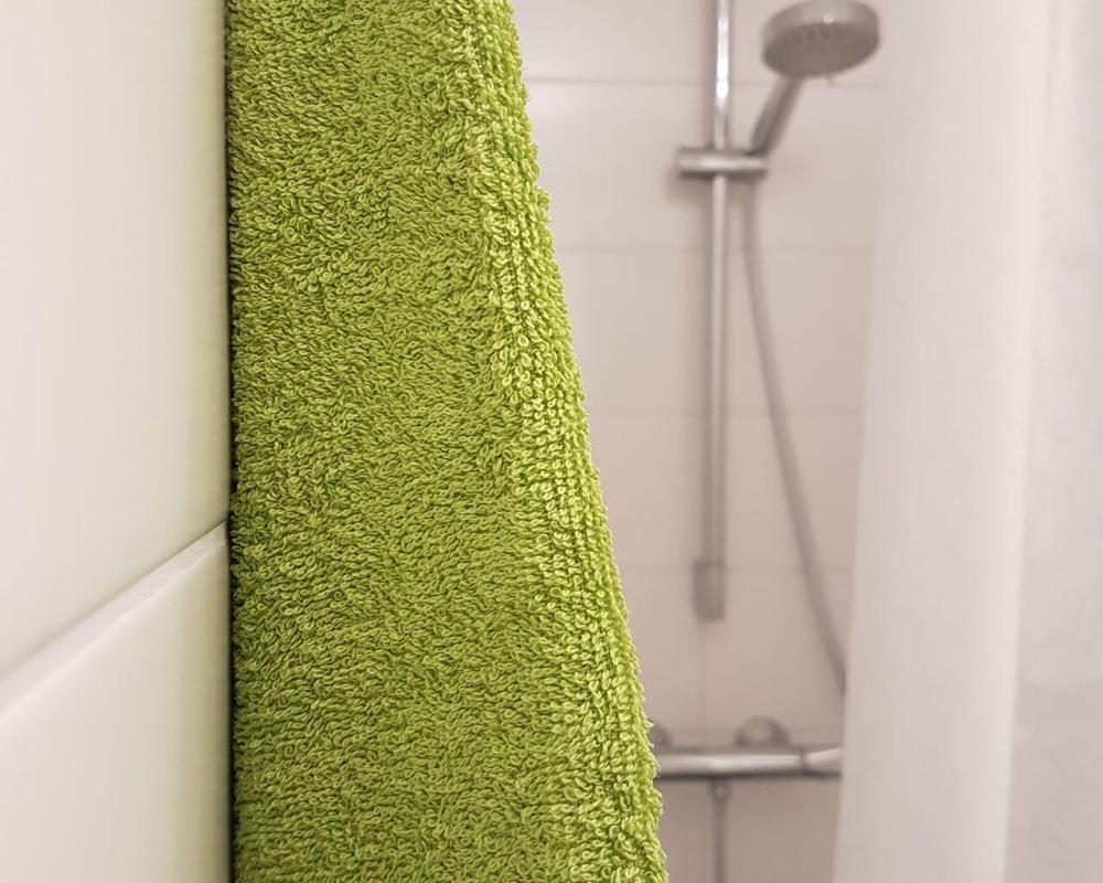 Dusche Grüne Wiese