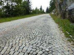Detalle del adoquinado (S. Gotthard)