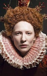 Cate Blanchett as Queen Elizabeth
