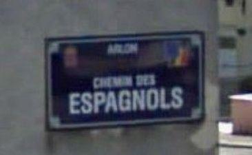letrero-de-calle-chemin-des-espagnols-arlon-300x184