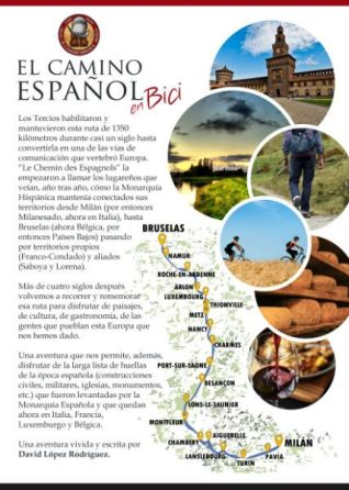 guía camino español en bici