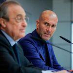Zidane asegura que cuenta con el apoyo del club, pese a los malos resultados