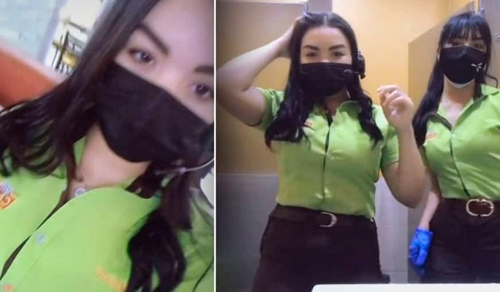 Despiden a 2 jóvenes por bailar un TikTok con el uniforme de trabajo