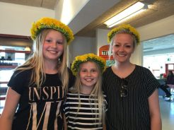 Camilla, Therese og Josefine
