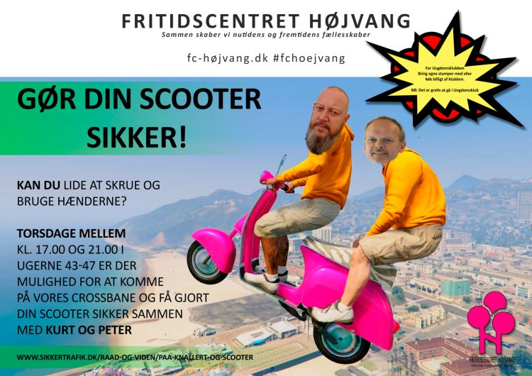 Scooter reklame