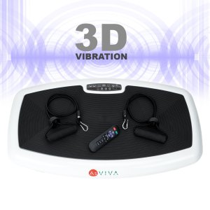 AsVIVA Vibrationsplatte 3D-Vibration V10