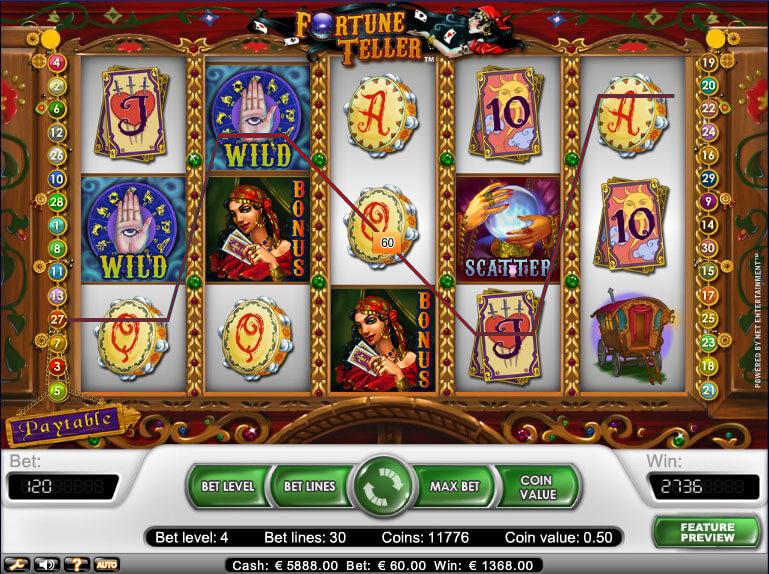 Spilleautomat fortune teller