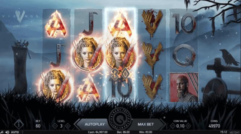 Vikings spilleautomat