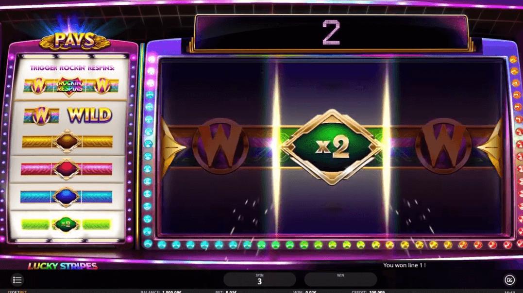 Lucky Stripes spilleautomat