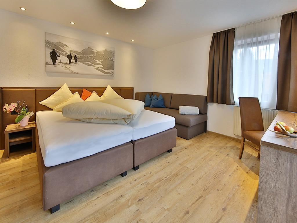 Hotel Sölden, Hotel Fiegl, Zimmer mit Frühstück