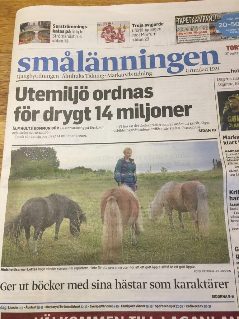 Reportage om Isa och Minigänget