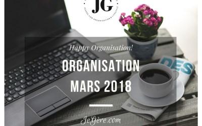 Organisation Mars 2018