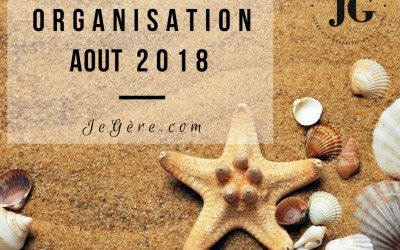 Organisation Aout 2018