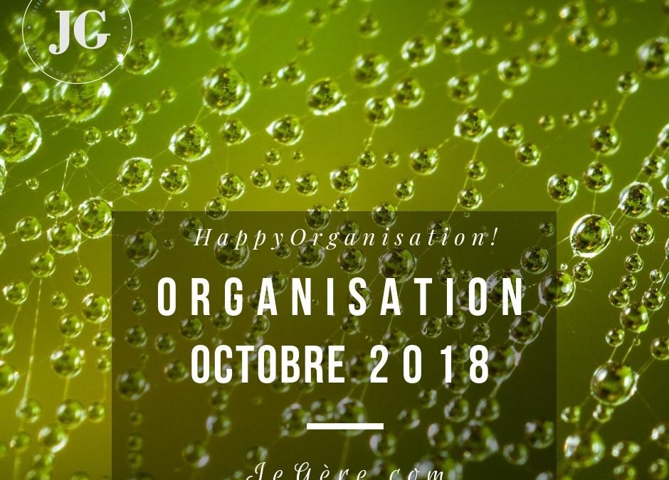 Organisation Octobre 2018