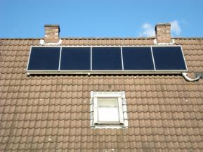 Solaranlage Aufdachmontage