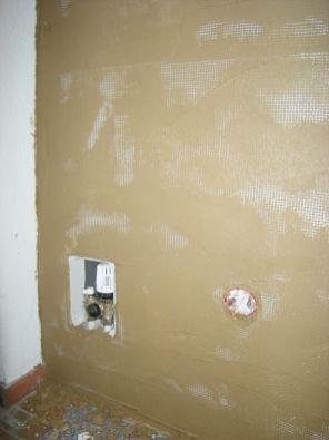 Detail Thermostat und Steckdose