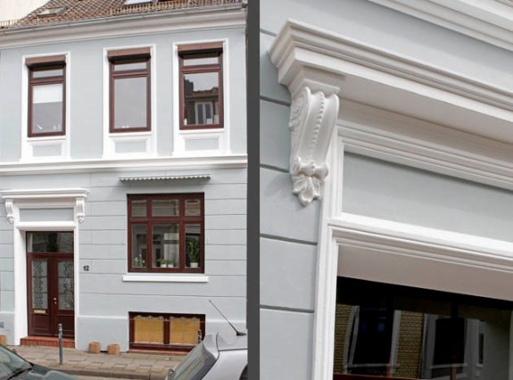 Fassadenanstriche