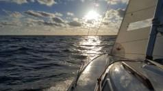 S/y Inke matkalla Ahlaisten saaristossa sijaitsevaan Seliserin retkisaareen