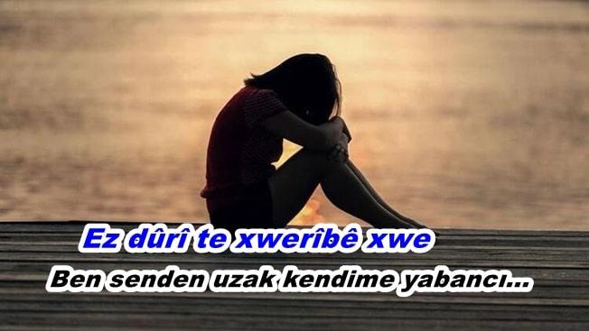 yalnızlık kürtçe mesajlar
