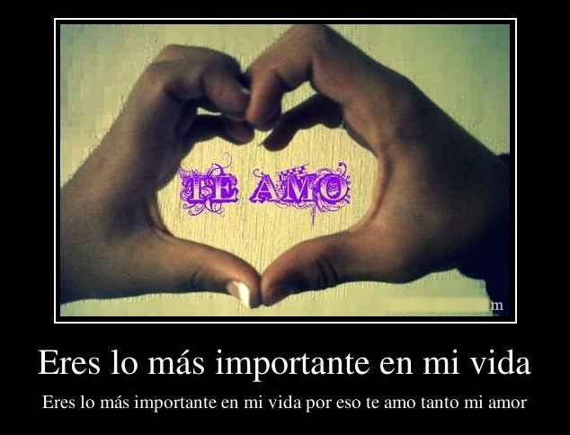 Tu Mi Importante Lo Vida Mas De Eres