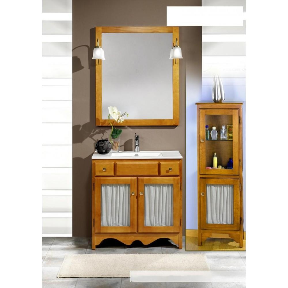 Muebles de bao  Rustico visillo 100 cm