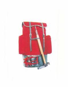 Mochila Alpina catalogo 1975 roja