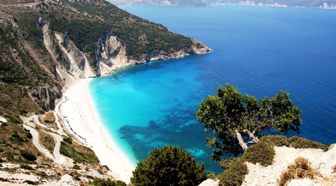 'Myrtos beach, Kefalonia isle' - Κεφαλονιά