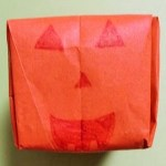ハロウィンの立体かぼちゃを折り紙で作る簡単な折り方