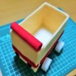 牛乳パック工作!よく走り・よく動く簡単な車の作り方