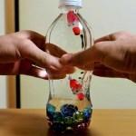 ペットボトルを使った物の浮き沈み実験|不思議な水族館を作ろう