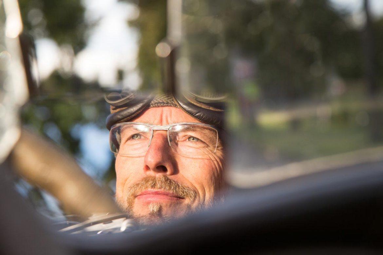 Kurt Nägele und sein Ford Model A Speedster