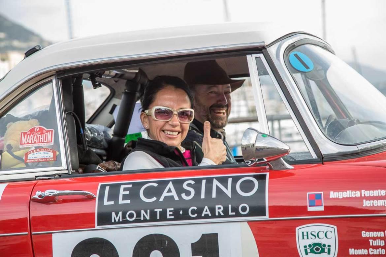 Start Monace-Valence · Hafen, Monaco, Monte Carlo · 19. Rallye Monte-Carlo Historique 2016 · 31.01.2016, 11:09 Uhr