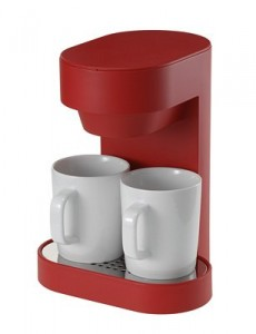 プラスマイナスゼロ コーヒーメーカー 赤