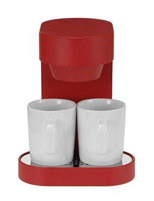 シンプルでかわいいデザインのプラスマイナスゼロのコーヒーメーカー