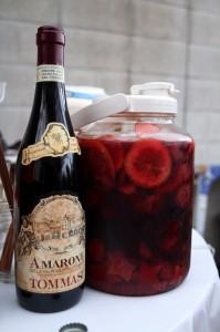 赤ワインで自家製サングリア おうちカフェでホームパーティーしよ♪010