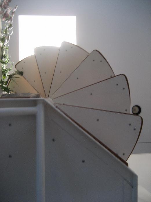 おしゃれなお部屋に住みたいな 螺旋階段のあるお部屋010