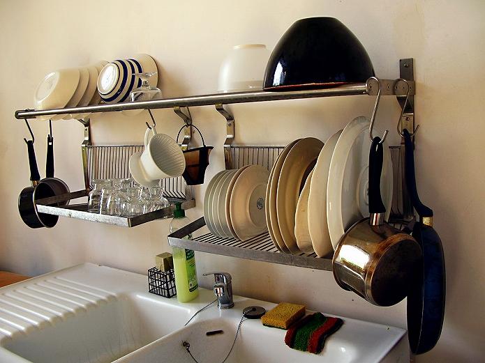 海外のおしゃれなキッチンにはペットが似合います005